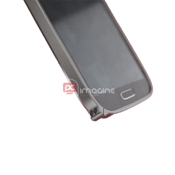 Bumper S4 Screwed Metal Marrón | Galaxy s4 (i9500/i9505)