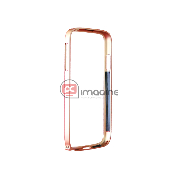 Bumper S4 Screwed Metal Gold | Galaxy s4 (i9500/i9505)