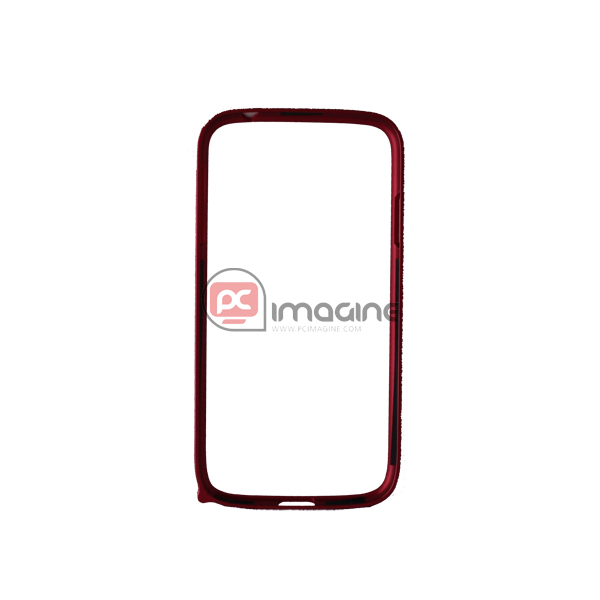 Bumper S4 Screwed Metal Rojo | Galaxy s4 (i9500/i9505)