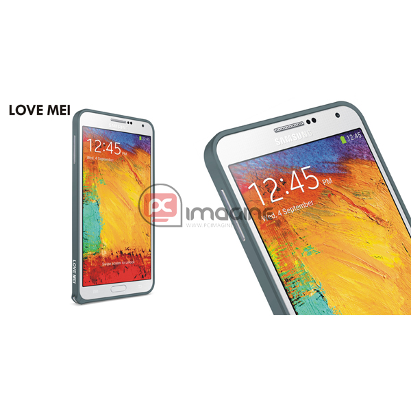 Bumper Note 3 Love Mei Metal Gris | Galaxy note 3 (n900)