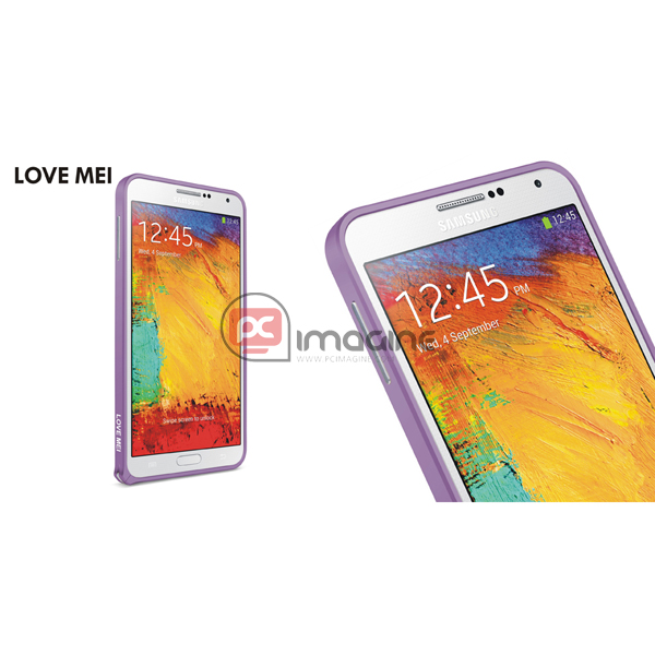 Bumper Note 3 Love Mei Metal Lila | Galaxy note 3 (n900)