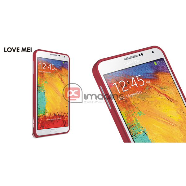 Bumper Note 3 Love Mei Metal Rojo | Galaxy note 3 (n900)