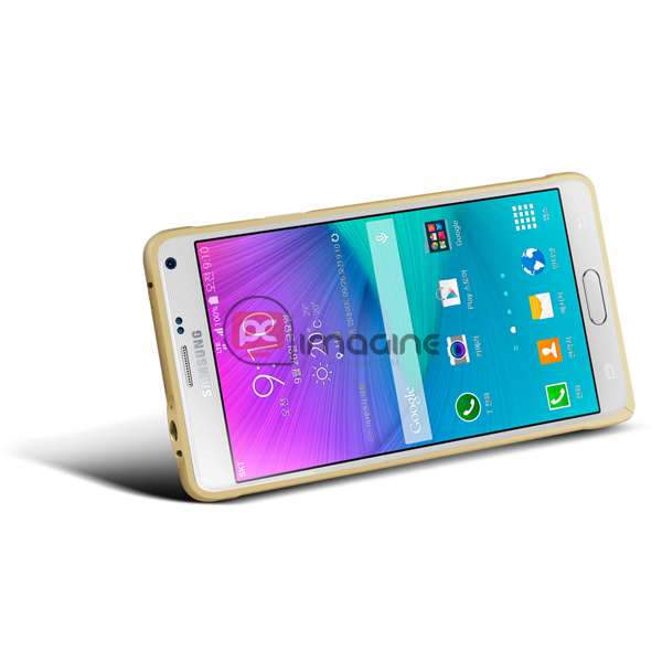 Bumper Note 4 Love Mei Metal Plata | Galaxy note 4 (n910)