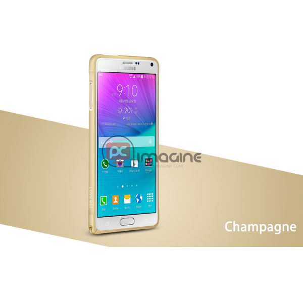 Bumper Note 4 Love Mei Metal Champagne | Galaxy note 4 (n910)