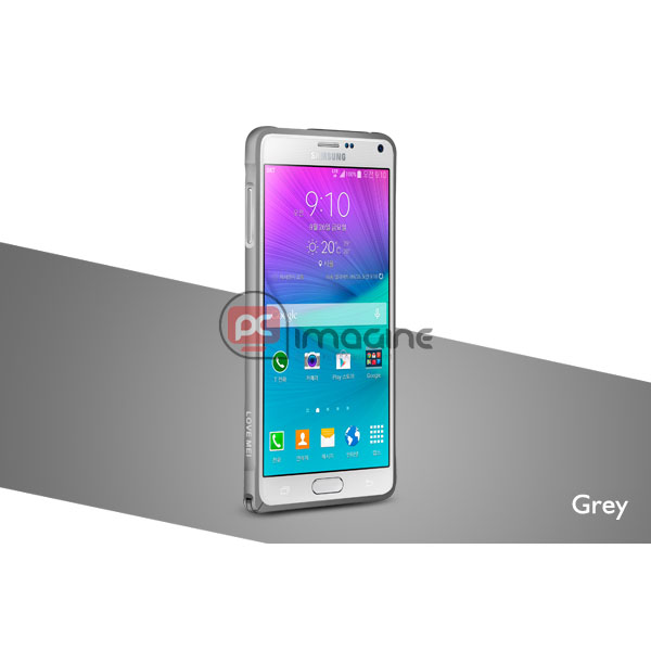 Bumper Note 4 Love Mei Metal Gris | Galaxy note 4 (n910)
