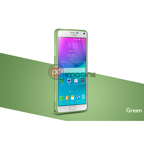 Bumper Note 4 Love Mei Metal Verde | Galaxy note 4 (n910)